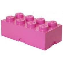 LEGO Pojemnik 8 na zabawki 50cm kolor Różowy