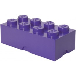 LEGO Pojemnik 8 na zabawki 50cm kolor Fioletowy