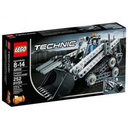 Klocki LEGO Technic 42032  Mała Ładowarka Gąsienicowa