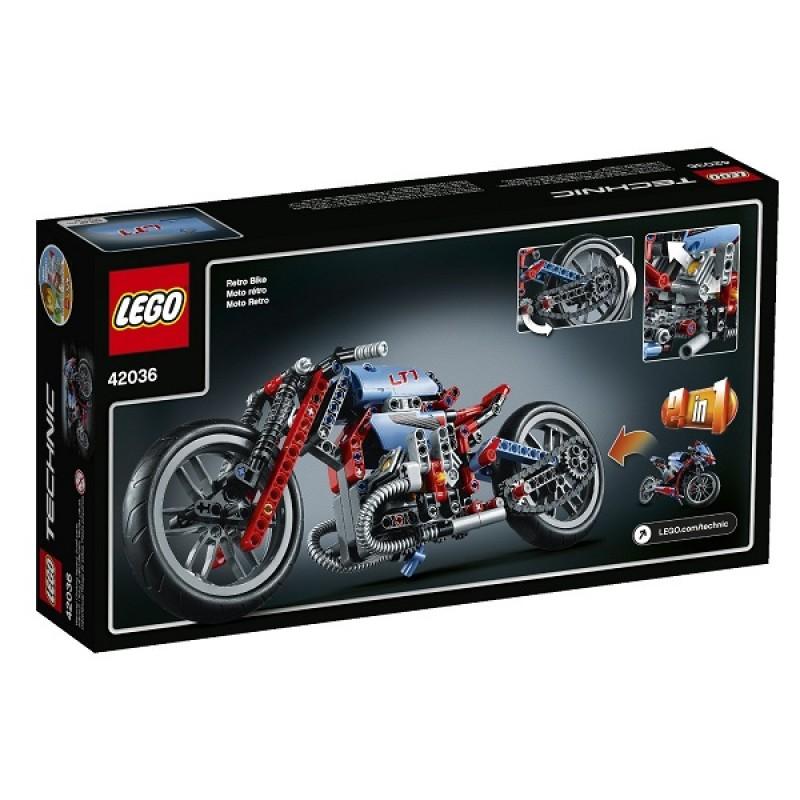 klocki lego technic 42036 miejski motocykl sklep zabawkowy. Black Bedroom Furniture Sets. Home Design Ideas