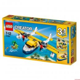 Klocki LEGO Creator - Przygody na wyspie 31064 3w1