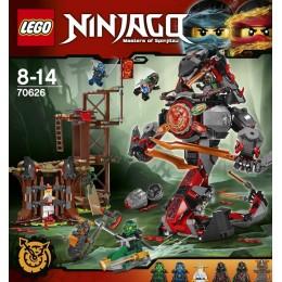 Klocki LEGO Ninjago Świt żelaznego Fatum 70626
