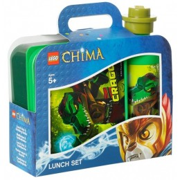 LEGO Pojemnik na śniadanie + bidon Chima