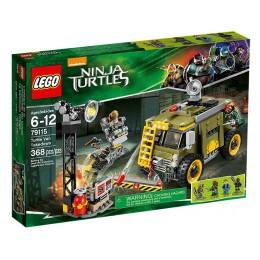 LEGO TURTLES 79115 Furgonetka Żółwi