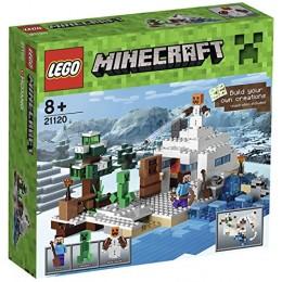 Klocki LEGO Minecraft 21120 Śnieżna kryjówka