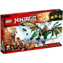 Klocki LEGO® NINJAGO® 70593 Zielony smok NRG