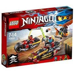 Klocki LEGO NINJAGO 70600 Pościg na Motocyklu