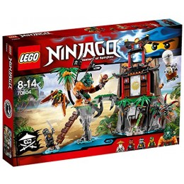 Klocki LEGO® NINJAGO® 70604 Wyspa Tygrysiej Wdowy