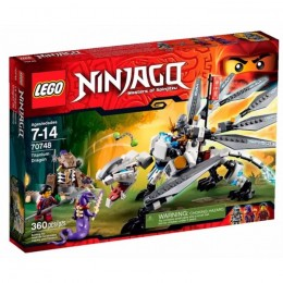 Klocki LEGO NINJAGO 70748 Tytanowy Smok
