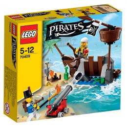 Klocki LEGO PIRATES 70409 Bitwa na Wraku