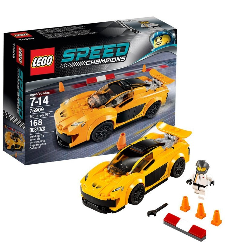 lego speed champions 75909 mclaren pt1 sklep zabawkowy. Black Bedroom Furniture Sets. Home Design Ideas