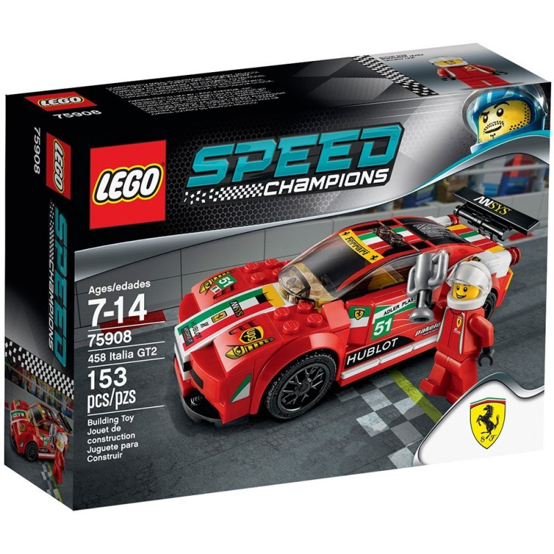 lego speed champions 75908 458 italia gt2 sklep zabawkowy. Black Bedroom Furniture Sets. Home Design Ideas