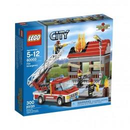 Klocki LEGO CITY 60003 Straż Alarm Pożarowy