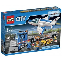 Klocki LEGO City 60079 Transporter Odrzutowca