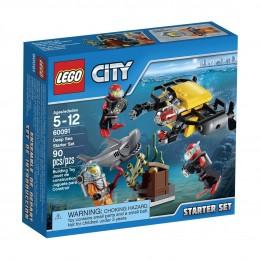 Klocki LEGO CITY 60091 Podwodny Świat - Zestaw Startowy