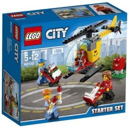 Klocki LEGO CITY 60100 Lotnisko - Zestaw Startowy