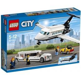 Klocki LEGO CITY 60102 Lotnisko - Obsługa VIP-ów