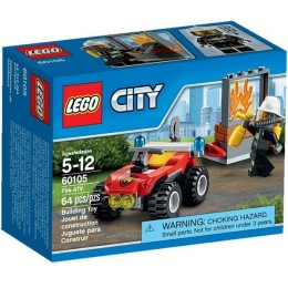 Klocki LEGO CITY 60105 Strażacki Quad