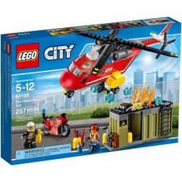 Klocki LEGO CITY 60108 Helikopter strażacki