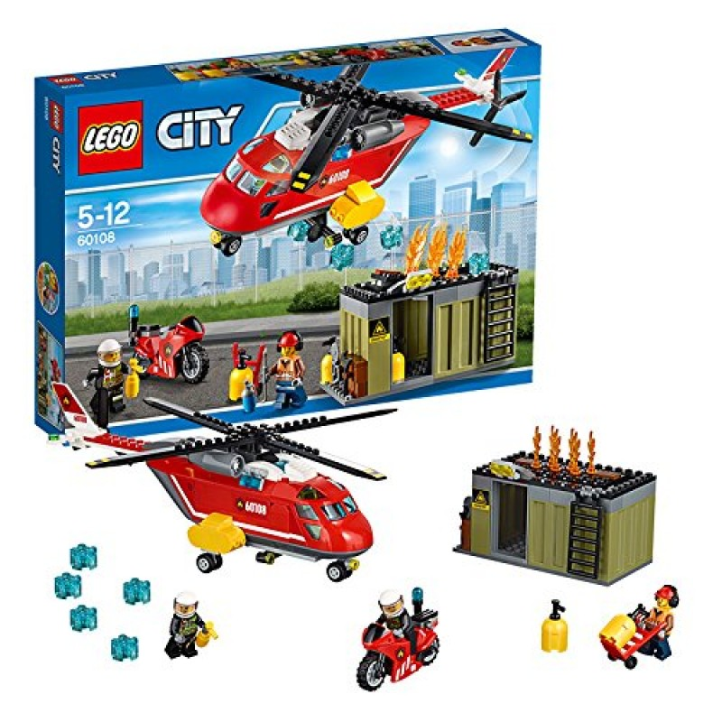 Lego Helicopter Instructions 60108 Lego Thepixinfo