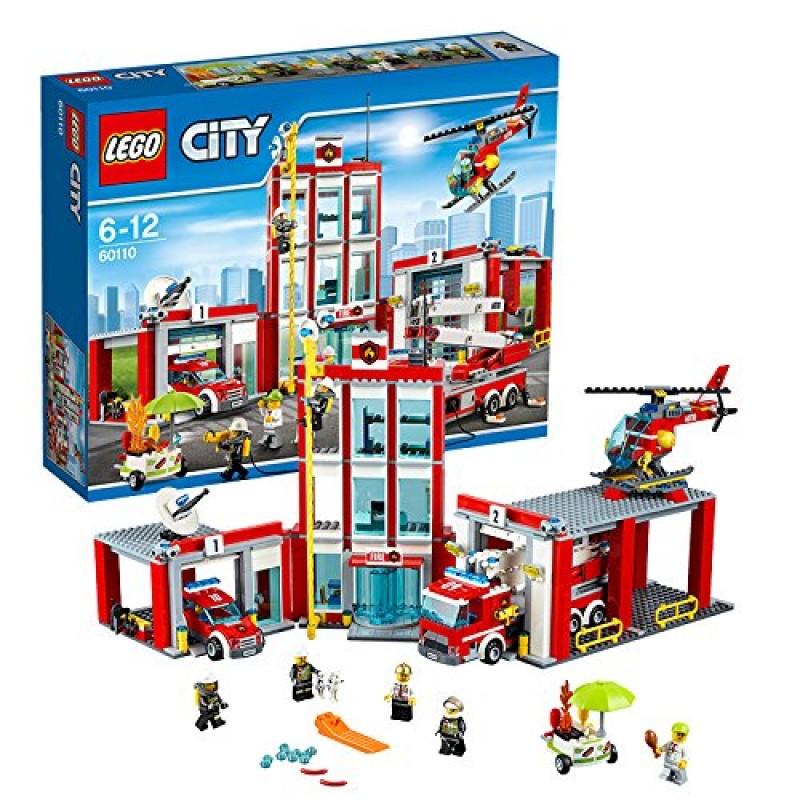 Klocki Lego City 60110 Remiza Strażacka Sklep Zabawkowy