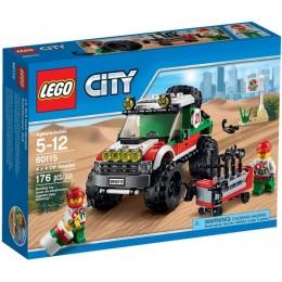 Klocki LEGO CITY 60115 Terenówka