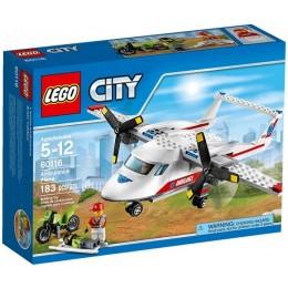 Klocki LEGO CITY 60116 Samolot ratowniczy