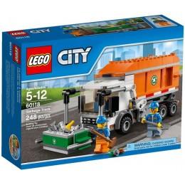 Klocki LEGO CITY 60118 Śmieciarka