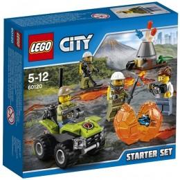 Klocki LEGO CITY 60120 Wulkan - zestaw startowy