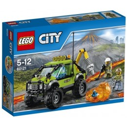 Klocki LEGO CITY 60121 Wulkan - Samochód naukowców