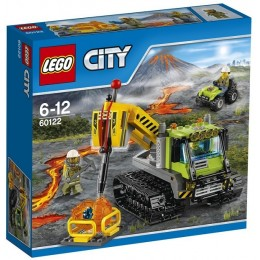 Klocki LEGO CITY 60122 Wulkan - Łazik wulkaniczny