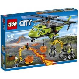 Klocki LEGO CITY 60123 Wulkan - Helikopter dostawczy