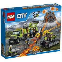 Klocki LEGO® City 60124 Wulkan - baza badaczy wulkanów