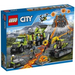 Klocki LEGO CITY 60124 Wulkan - baza badaczy wulkanów