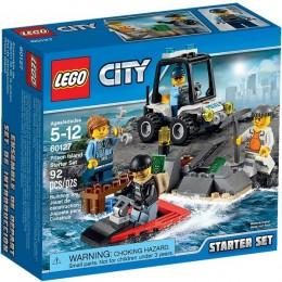 Klocki LEGO CITY 60127 Więzienna Wyspa - zestaw startowy