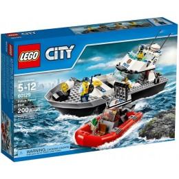 Klocki LEGO CITY 60129 Policyjna Łódź Patrolowa