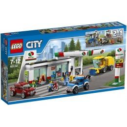 Klocki LEGO CITY 60132 Stacja Paliw i Warsztat Samochodowy