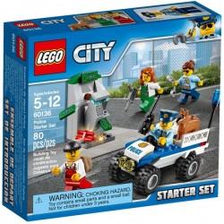 Klocki LEGO CITY 60136 Policja - zestaw startowy