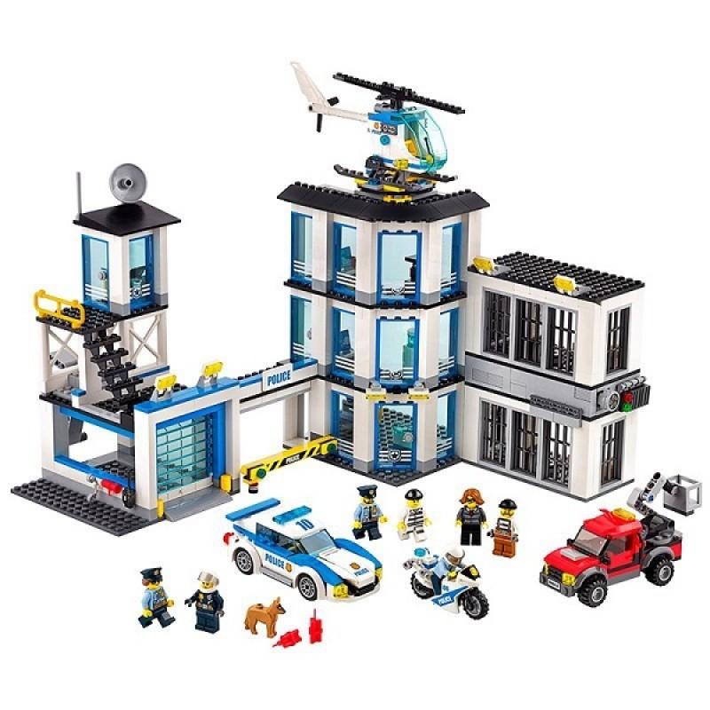 Klocki Lego City 60141 Posterunek Policji Sklep Zabawkowy Kimlandpl