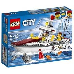 Klocki LEGO® City 60147 Łódź rybacka