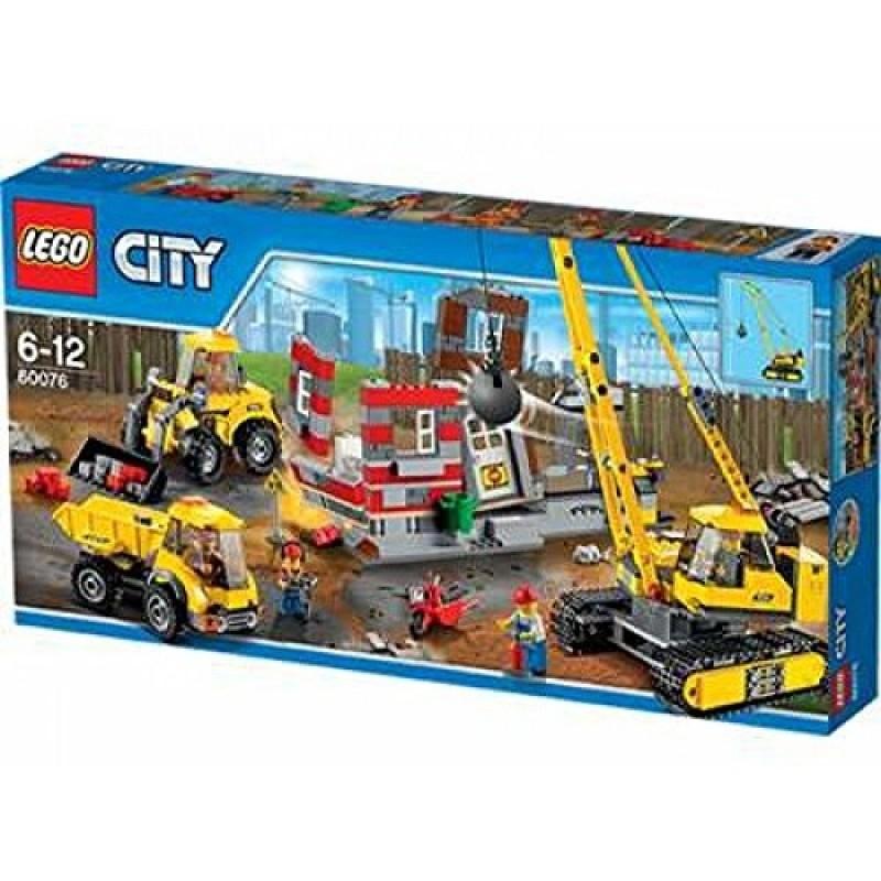 Klocki Lego City 66521 Super Pack 3w1 Budowa Sklep Zabawkowy