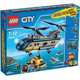 Klocki LEGO CITY 66522 Super Pack 4W1 Głębinowi Odkrywcy