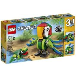 Klocki LEGO Creator 31031 Zwierzęta z Lasu Deszczowego