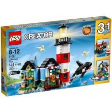 Klocki LEGO® Creator 31051 Latarnia morska 3 w1
