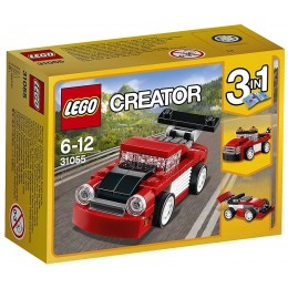 Klocki LEGO® Creator 31055 Czerwona wyścigówka