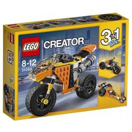 Klocki LEGO Creator 31059 Motocykl z Bulwaru Zachodzącego Słońca 3w1