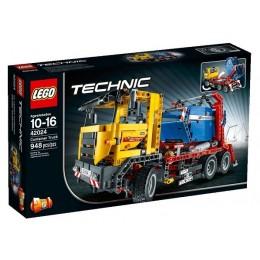 Klocki LEGO Technic 42024 Ciężarówka do Przewozu Kontenerów