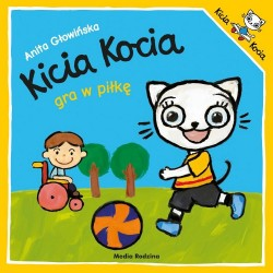 Media Rodzina – Książeczka Kicia Kocia gra w piłkę – 5770