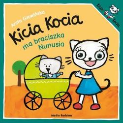 Media Rodzina – Książeczka Kicia Kocia ma braciszka Nunusia – 5978