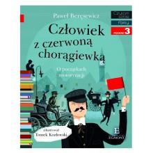 Egmont – Książeczka Czytam sobie – Człowiek z czerwoną chorągiewką – poziom 3 – 71272